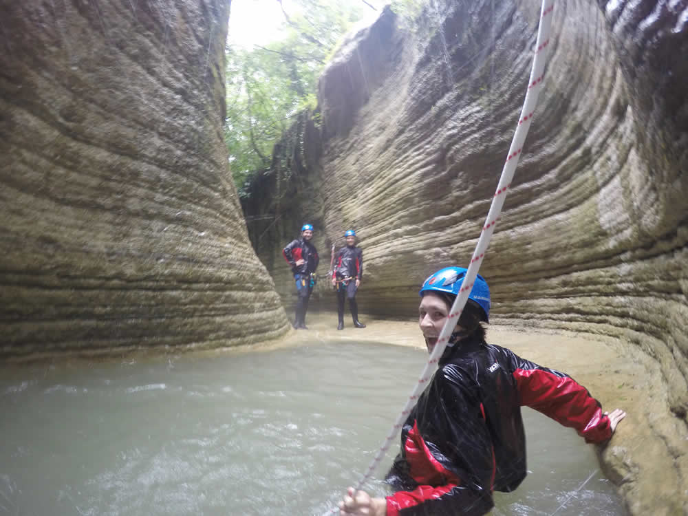 Canyoning - Difficult Route